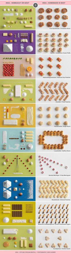 "10 Classic Swedish Treats (III) - IKEA cookbook ""Hembakat är Bäst"" (Homemade Is Best) / Food Styling by Evelina Bratell, Photos by Carl Kleiner (http://www.carlkleiner.com)"