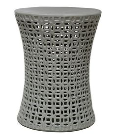 Take a look at this Garden Stool by The Import Collection on #zulily today! use as a side table, this would be cool!