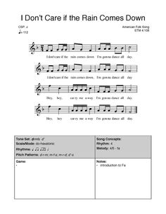 Elementary Choir, Elementary Music Lessons, Singing Lessons, Singing Games, Music Education, Health Education, Physical Education, Music For Kids, Add Music