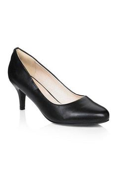 #Long Tall Sally AU - #Long Tall Sally Tall Lts Hazel Leather Lined Court at Long Tall Sally - AdoreWe.com