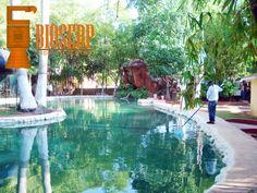 Limpieza lago artificial #ServiciosAmbientales www.bioserpmex.com #Yucatan #Mexico