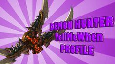 Havoc Demon Hunter TMW Rotation Profile - 7.0.3 - LEGION w/Download #worldofwarcraft #blizzard #Hearthstone #wow #Warcraft #BlizzardCS #gaming