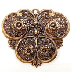 Fanciful vintage German filigree, butterfly, from B'sue Boutiques http://www.bsueboutiques.com