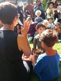 On the first Sunday of most months, the beginning of the lecture is especially for children. After this short talk, children leave the zendo to participate in their own program.