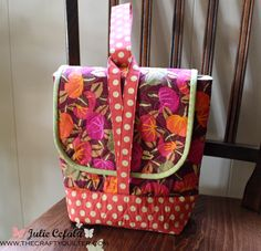 Insulated Lunch bag @ The Crafty Quilter