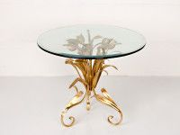 Tulip Gold Side Table- Cake table