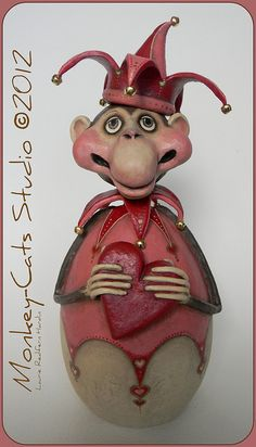 Mortimer Monkey by Laurie Hardin