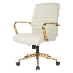 Wayfair Basics™ High Back Swivel with Wheels Ergonomic Executive Chair Chair Upholstery, Upholstered Dining Chairs, Chair Cushions, Swivel Chair, Bar Chairs, Office Chairs, Desk Chairs, High Chairs, Eames Chairs