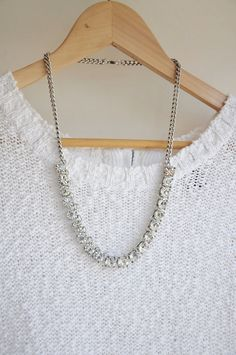 Mini Clear Jewel Crystal Bling Statement by AnneEmmaJewelry, $9.80