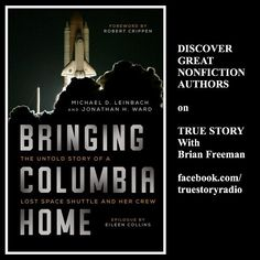 Discover great nonfiction storytellers on my podcast TRUE STORY.  Coming up Monday 1/29 8:30pm ET: My interview with Michael Leinbach and Jonathan Ward authors of BRINGING COLUMBIA HOME.  Listen in live or archived at: http://tobtr.com/10519951  #nasa #space #spaceshuttle #columbia #arcadepublishing #bookstagram #book #nonfiction #history #authorsofinstagram #podcast #interview #books #librarian #library #audio #blogtalkradio #reading #kennedyspacecenter #truestory #truestoryradio…