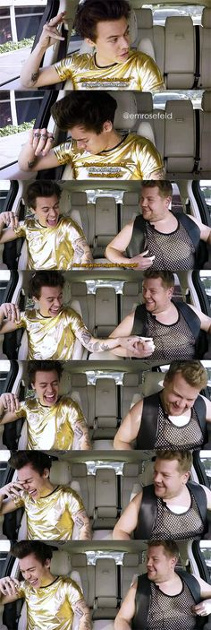 Harry Styles on Carpool Karaoke on The Late Late Show with James Corden Bad Boy, Bae, Harry Styles Pictures, Mr Style, Louis And Harry, Treat People With Kindness, 1d And 5sos, Harry Edward Styles, To Infinity And Beyond