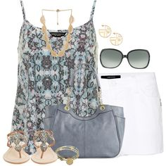 """""""Chic Blues"""" by angelysty on Polyvore"""