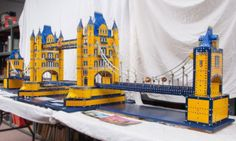 Meccano London Tower Bridge  by Bobby Middlemass