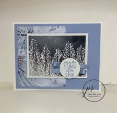 Merry Christmas Card, Stampin Up Christmas, Christmas Cards To Make, Xmas Cards, Christmas 2016, Fall Cards, Winter Cards, Card Making Tutorials, Making Ideas