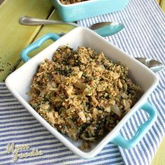 Turkey and Spinach Quinoa | Community Post: 39 Leftover Turkey Recipes