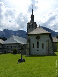 Abbaye de Sixt, chevet de l'église, Sixt-Fer-à-Cheval #hautesavoie