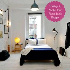 5 easy tips to make your small room look bigger