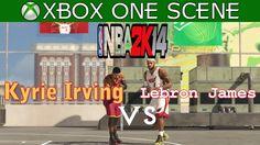Lebron James vs Kyrie Irving - NBA 2K14 Blacktop - XBOX ONE