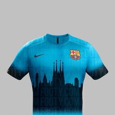 Another one of our #Cityscape concept shirts! Here's our take on the @fcbarcelona Third shirt from 2015-16! . . . #footydotcom #fcfc #footy #footballboot #soccercleats #football #soccer #futbol #futbolsport #cleatstagram #totalsoccerofficial #fussball #bestoffootball #rldesignz #footyfeature #concept #footballshirt #design #barcelona #ForçaBarça! #Messi #NeymarJr #Suarez #fcbarcelona