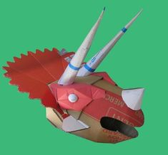 Triceratops helmet - Welcome toWild Card Creations, the home of fabulous cardboard dinosaur helmets