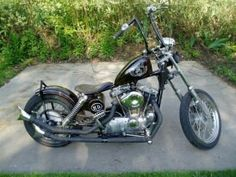 My first project,1973 ironhead.right shifter..