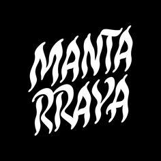 """97 Likes, 4 Comments - Mauricio Astete Brito (@mauricio_astete) on Instagram: """"Logo lettering que realice hace algunos meses para @mantarrayaoficial y se viene pronto el…"""""""