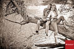 fishing engagement photography
