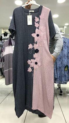 Фотография by fern Abaya Fashion, Boho Fashion, Girl Fashion, Fashion Dresses, Womens Fashion, Kurta Designs, Blouse Designs, Linen Dresses, Casual Dresses