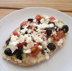 No bake Griekse pizza – Wat eet je dan wel?