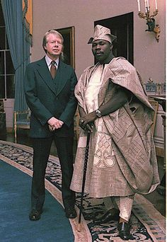 Obasanjo the ex Nigerian president  and Jimmy Carter