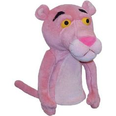 Winning Edge Designs Pink Panther Golf Club Headcover
