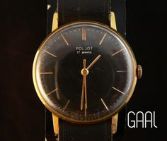 Aged Poljot watch