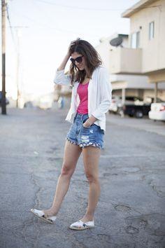 Malibú con piña. Street style outfits. Looks de street style. Fashion Blogger.