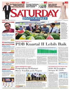Investor Daily - 07-08 Mei 2016   PDB KUARTAL II LEBIH BAIK   INVESTOR DAILY
