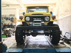 My BJ40 in the making
