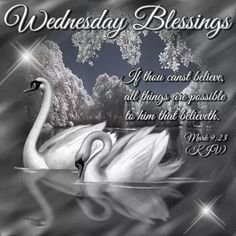Wednesday Blessings, Mark 9:23