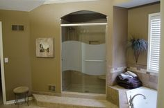 """""""etched Shower Door"""" Design Ideas, Pictures, Remodel and Decor"""