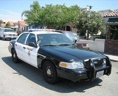 Long Beach PD, California - Ford Crown Vic police interceptor