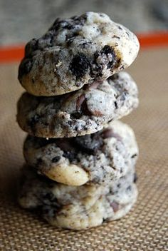 Chocolate Chip Oreo Cookies-husband would like this