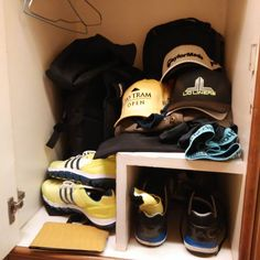 Lockers looking full and its only Day 1 #golf #caddie #tourlife
