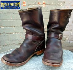 Quintessential motorcycle boots from Mr. Freedom, L.A.