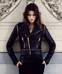 Ksubi leather jacket.