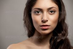 Close-up front view portrait of a beauty young female face ...  20s, adult, attractive, background, beautiful, beauty, body, bodycare, calm, care, caucasian, clean, clear, close-up, complexion, copy, cosmetic, cute, face, fashion, female, feminity, fresh, freshness, front, girl, head, health, healthy, looking, model, natural, nude, one, perfection, portrait, pure, purity, serene, skin, skincare, spa, treatment, vertical, view, white, woman, young