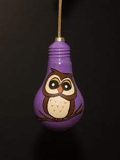 Hey, I found this really awesome Etsy listing at https://www.etsy.com/listing/168072280/owl-bulb-ornament