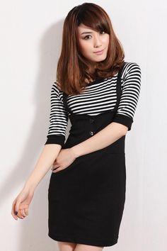 asian fashion rocks! love this jumper dress