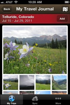 Travel App of the Day, 02/15/2012: Free Travel Journal by Everlater.com. For iOS devices with iOS4 or better.