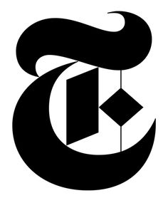 "I think the designer chose this logo because it is a stylized letter ""T"" and their magazine is ""The New York Times"". Letterhead Logo, Logo Branding, Cool Magazine, Magazine Design, Future Logo, Circular Logo, New York Times, Ny Times, Letter T"