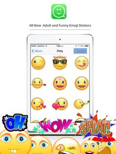 Install free #whatsapp #stickers app for #iPhone and enjoy chatting with interesting whats app stickers.