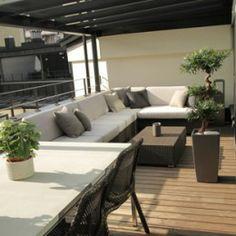Penthouse: kattoterassi ‹ Sisustussuunnittelija Milla Alftan