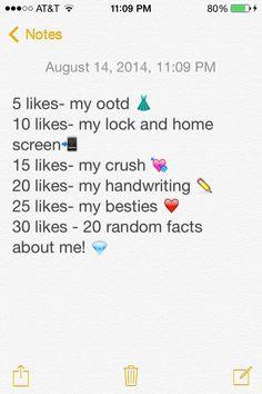 Do it! I'm bored